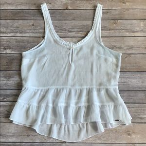 Abercrombie & Fitch White Top Size XS